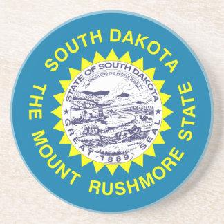 South Dakota State Flag Drink Coasters