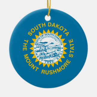 South Dakota State Flag Ornament
