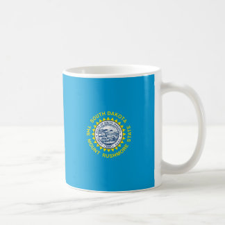 South Dakota State Flag Design Decor Basic White Mug
