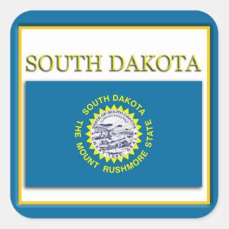 South Dakota State Flag Design Sticker