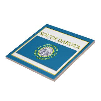 South Dakota State Flag Design Tile