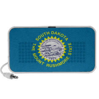 South Dakota State Flag Mini Speaker