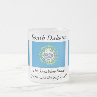 South Dakota State Flag Mugs