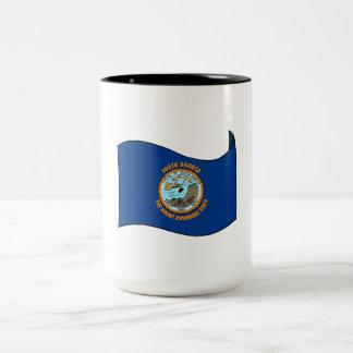 South Dakota State Flag Coffee Mugs