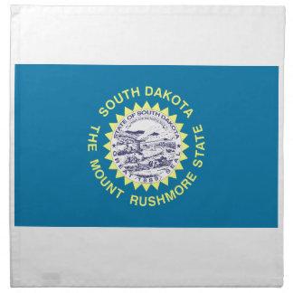 South Dakota State Flag Napkin