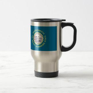 South Dakota State Flag Stainless Steel Travel Mug