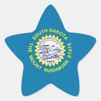 South Dakota State Flag Star Sticker