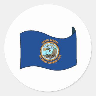 South Dakota State Flag Stickers