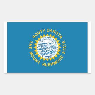 South Dakota State Flag Sticker - 4 per sheet