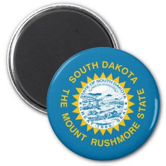 south dakota state flag united america republic sy 6 cm round magnet