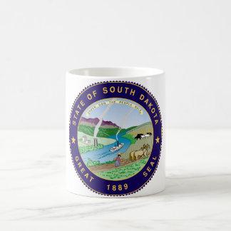 south dakota state flag united america republic sy basic white mug