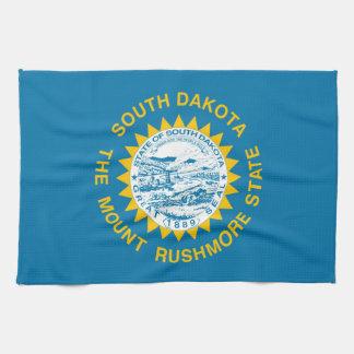 south dakota state flag united america republic sy hand towels