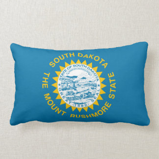 south dakota state flag united america republic sy lumbar pillow
