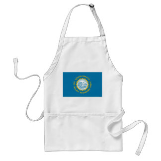 south dakota state flag united america republic sy standard apron