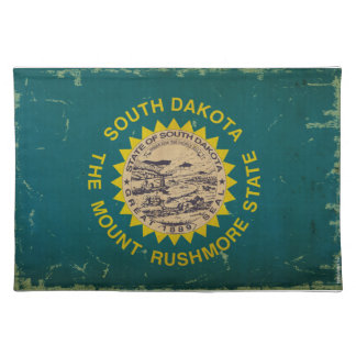 South Dakota State Flag VINTAGE Place Mats