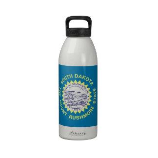 South Dakota State Flag Reusable Water Bottle