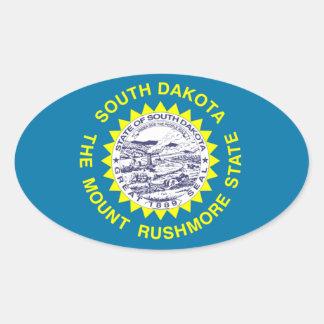 South dakota State Oval sticker