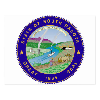 South Dakota State Seal Post Cards