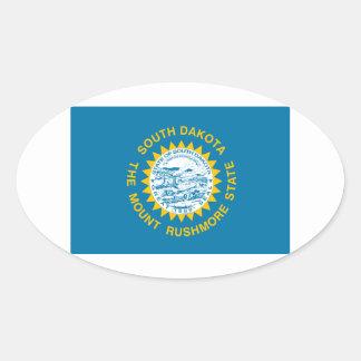 South Dakota Oval Stickers