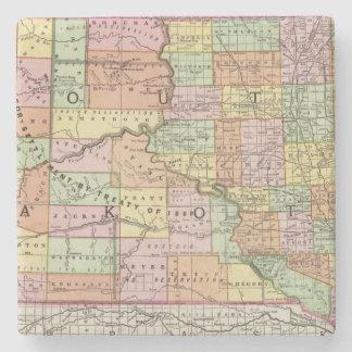South Dakota Stone Coaster