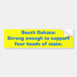 South Dakota:Strong enough to supportfour heads...