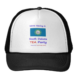 South Dakota TEA Party - Taxed Enough Already Mesh Hats