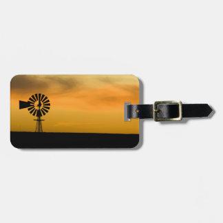 South Dakota, USA. Luggage Tag