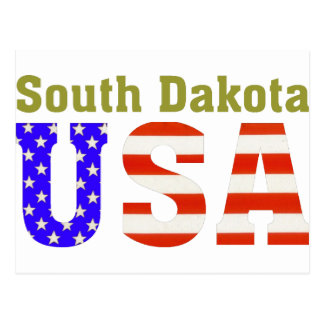 South Dakota USA! Postcard