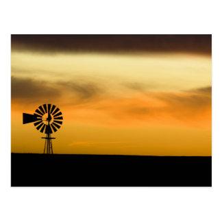 South Dakota, USA. Postcard