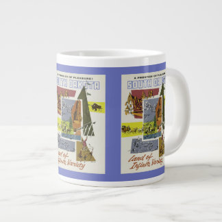 South Dakota Vintage Travel Poster mugs