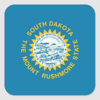South Dakotan Flag Sticker