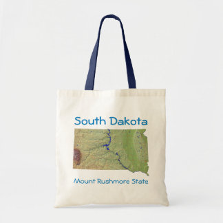 South Dakotan Map Bag