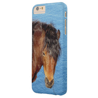 South Devon Coast Dartmoor Pony Looking .1. Barely There iPhone 6 Plus Case