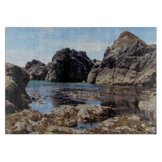 South Devon Coast East Prawle To Gara Rock Cutting Board