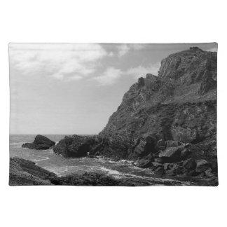 South Devon Coast Prawle Point B & W Placemat