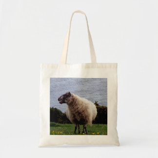 South Devon Coast Sheep Standing Looking Tote Bag
