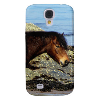 South Devon Dartmoor Pony On Remote Beach Galaxy S4 Case
