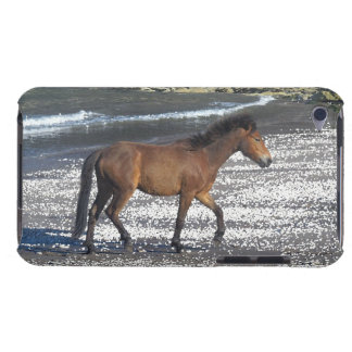 South Devon Dartmoor Pony Trotting On Beach iPod Touch Case