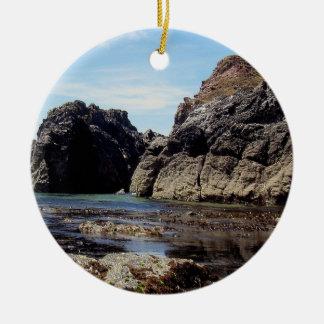 South Devon East Prawle To Gara Rock Christmas Ornament