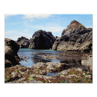 South Devon East Prawle To Gara Rock Photo Print