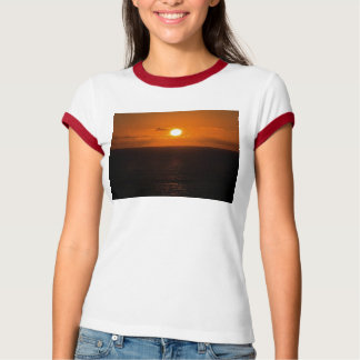 South Devon Gara Rock Autunm Sunset T-Shirt