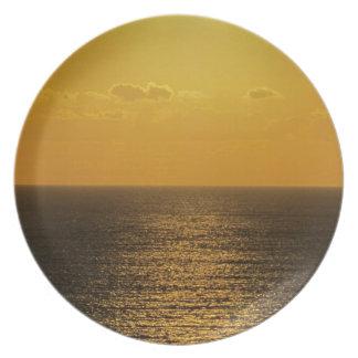 South Devon Gara vRock Early November Sunset .4. Plate