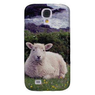 South Devon Lamb Resting On Remote Coastline Galaxy S4 Case