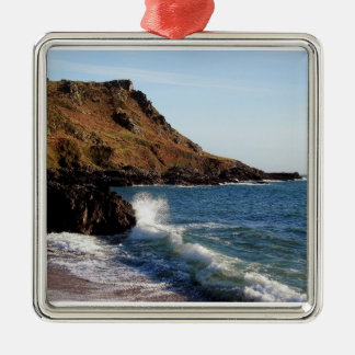 South Devon Lannacombe Bay Christmas Ornament