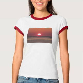 South Devon Noss Mayo coast winter sunset T-Shirt