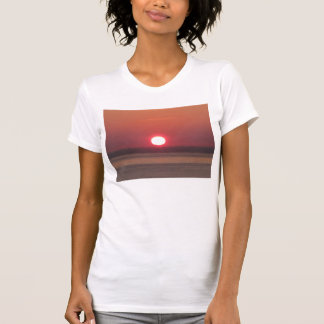 South Devon Noss Mayo Winter Sunset T-Shirt