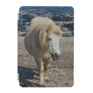 South Devon Shetland Pony Walking Beach iPad Mini Cover