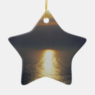 South Devon Stoke Autunm Sunset Christmas Ornament