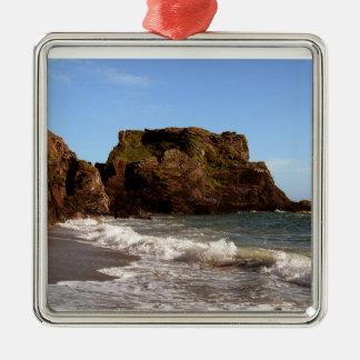 South Devon Westcombe Beach Christmas Ornament