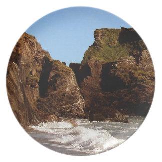 South Devon Westcombe Beach Plate